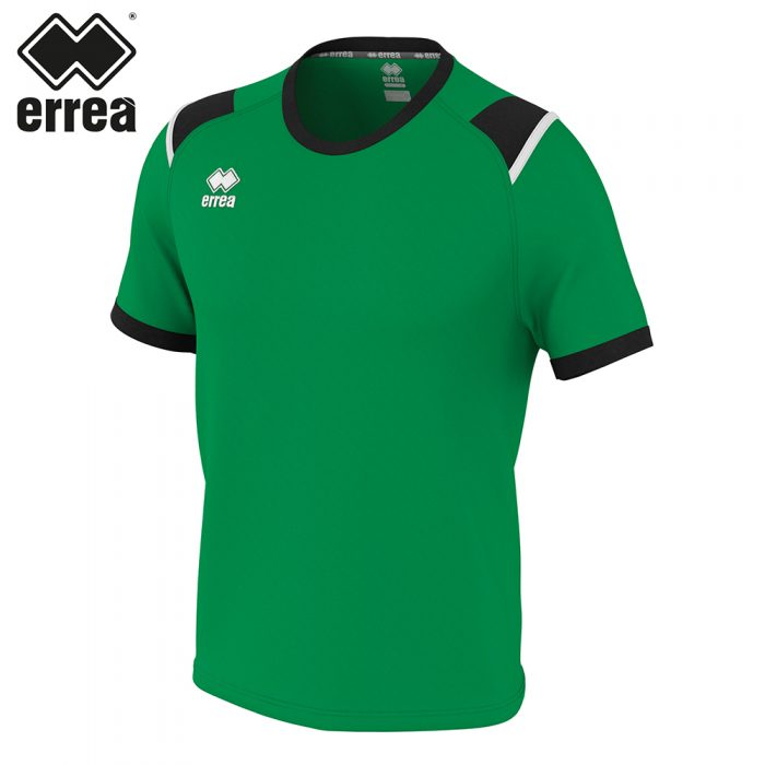 Errea LEX Shirt SS (GREEN/BLACK/WHITE) - Adult.