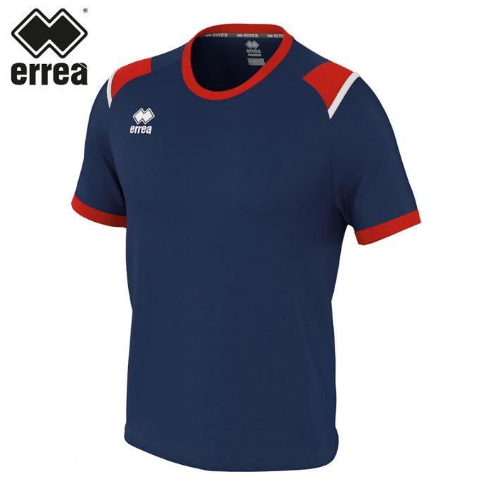 Errea LEX Shirt SS (NAVY RED WHITE) - Adult.