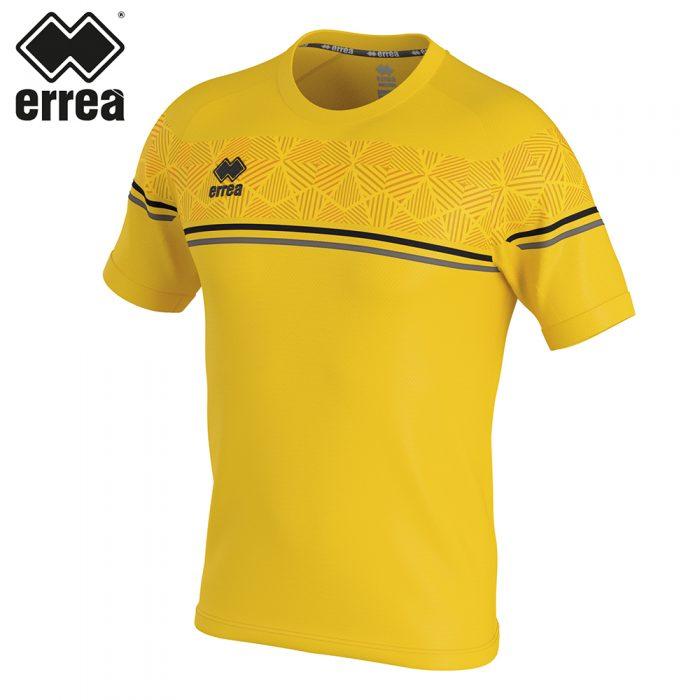 Errea DIAMANTIS Shirt SS (YELLOW BLACK ANTHRACITE) - Junior.