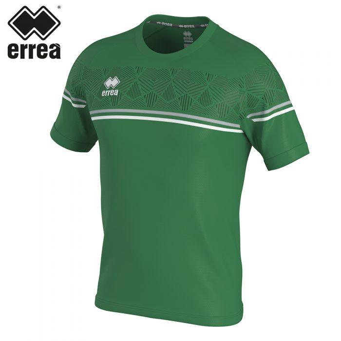 Errea DIAMANTIS Shirt SS (GREEN GREY WHITE) - Adult.