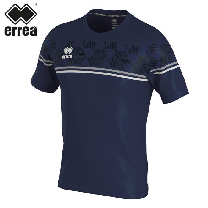 Errea DIAMANTIS Shirt SS (NAVY GREY WHITE) - Adult.