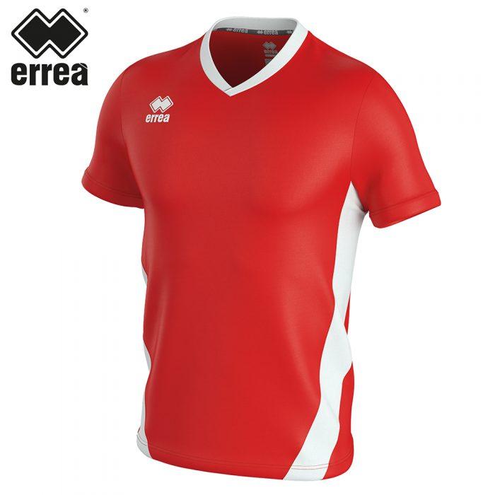 Errea BRIAN Shirt SS (RED WHITE) - Adult.