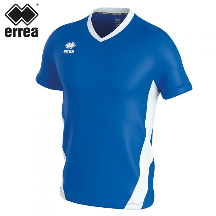 Errea BRIAN Shirt SS (BLUE WHITE) - Adult.