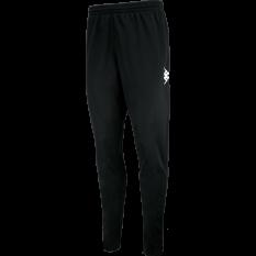 Kappa PONTE Training Bottom (BLACK/WHITE) - Adult.
