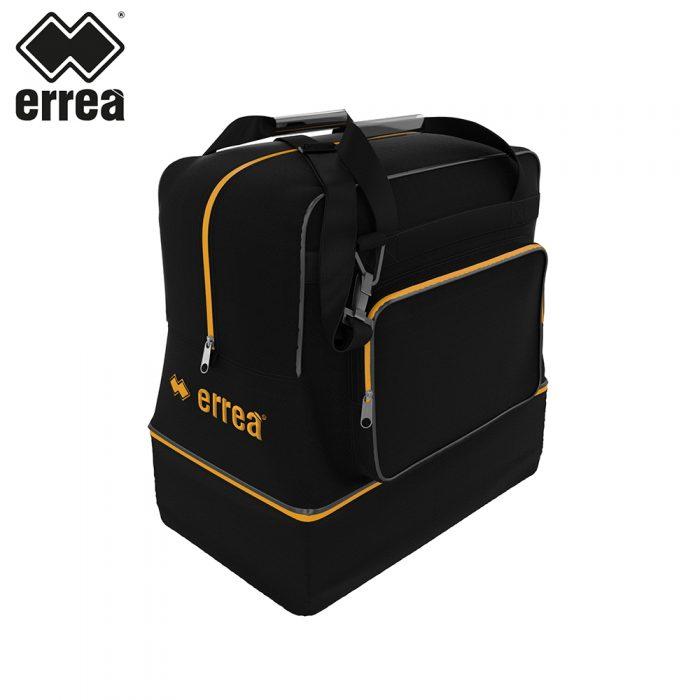 Errea BASIC BAG (BLACK ORANGE FLUO)