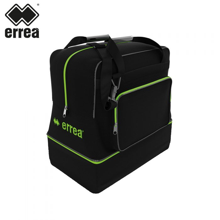 Errea BASIC BAG (BLACK GREEN FLUO)