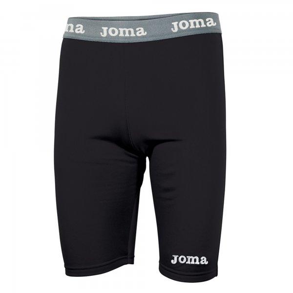 Joma BLACK SHORT WARM FLEECE - Adult.