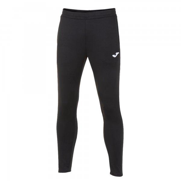 Joma CLASSIC LONG PANTS BLACK-WHITE - Adult.