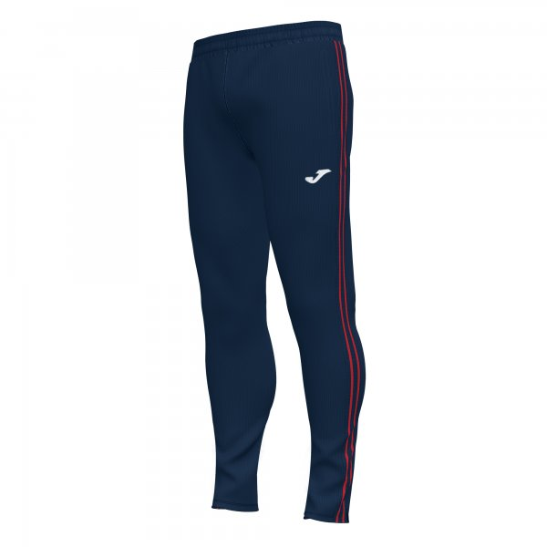 Joma CLASSIC LONG PANTS DARK NAVY-RED - Adult.