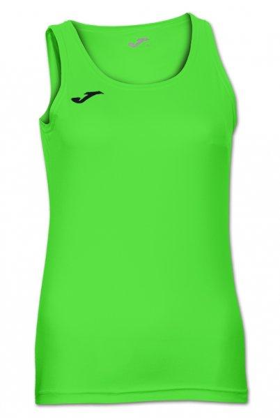 Joma DIANA SLEEVELESS WOMEN SHIRT GREEN FLUOR - Adult.
