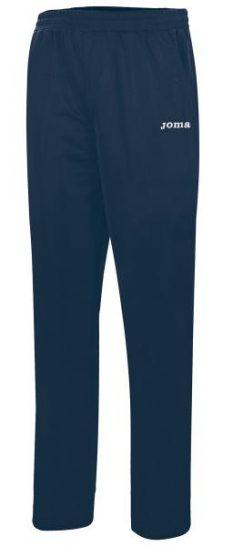 Joma TEAM BASIC POLYFLEECE WOMEN NAVY LONG PANTS - Adult.