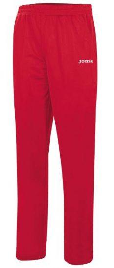Joma TEAM BASIC POLYFLEECE WOMEN RED LONG PANTS - Adult.