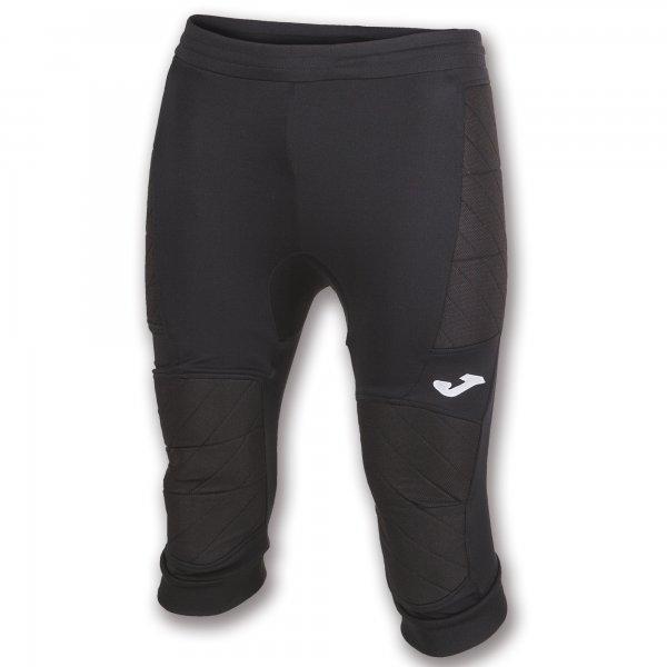 Joma CAPRI PANTS PROTECT GOALKEEPER BLACK - Adult.