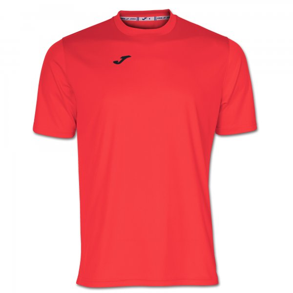 Joma T-SHIRT COMBI CORAL FLUOR SS - Adult.