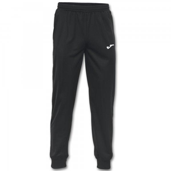 Joma ESTADIO II BLACK LONG PANTS - Adult.