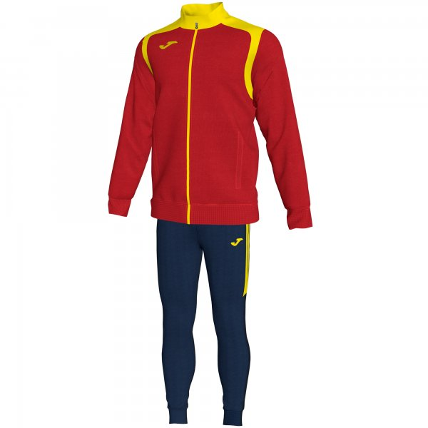 Joma TRACKSUIT CHAMPIONSHIP V RED-YELLOW - Adult.
