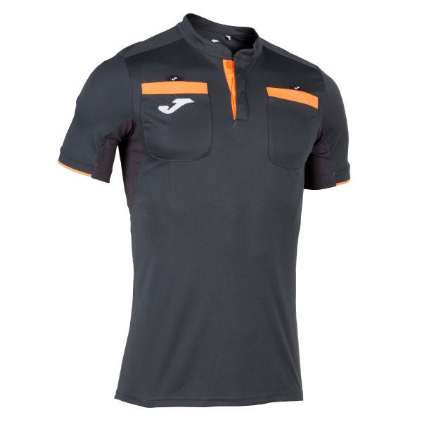 Joma REFEREE T-SHIRT ANTHRACITE SS - Adult.
