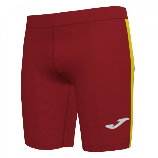 Joma ELITE VII SHORT TIGHT RED-YELLOW - Adult.