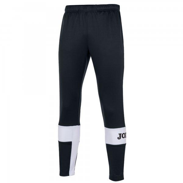 Joma FREEDOM LONG PANTS BLACK-WHITE - Adult.