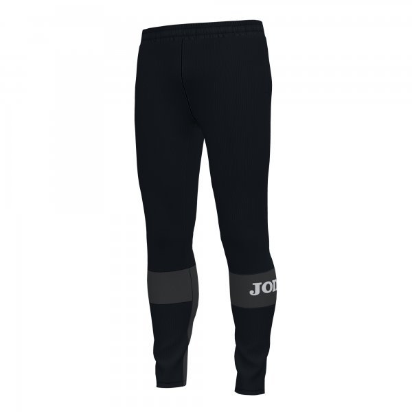 Joma FREEDOM LONG PANTS BLACK-ANTHRACITE - Adult.