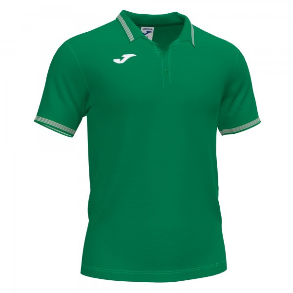 Joma CAMPUS III POLO GREEN SS - Adult.