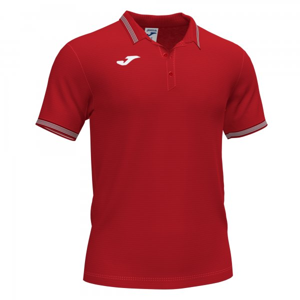 Joma CAMPUS III POLO RED SS - Adult.